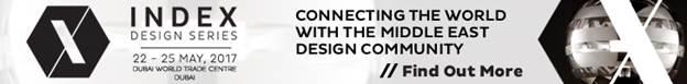 Artico Modo in the INDEX International Fair of Furniture and Interior Design 2017, in Dubai.