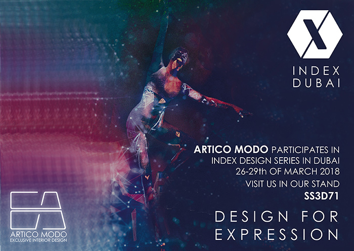 Artico Modo participates in INDEX DUBAI 2018 Design Series | ARTICO